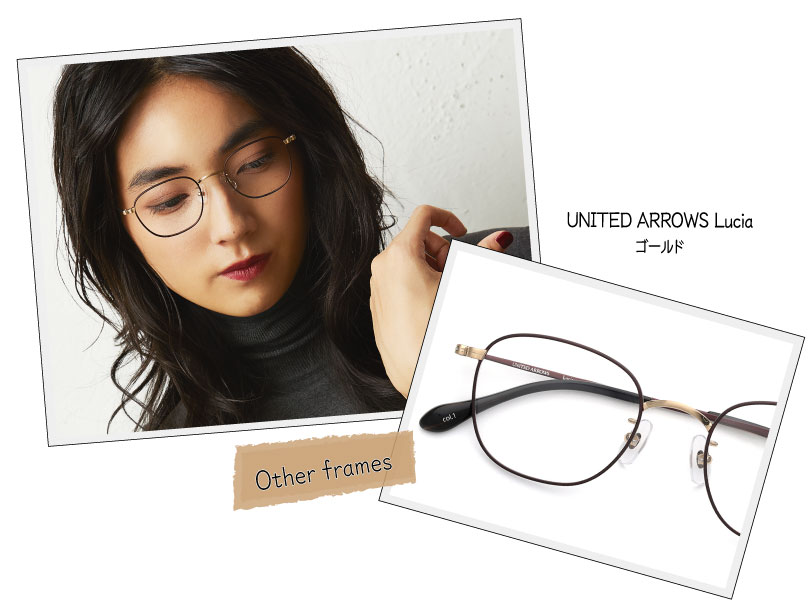 UNITED ARROWS Lucia ゴールド
